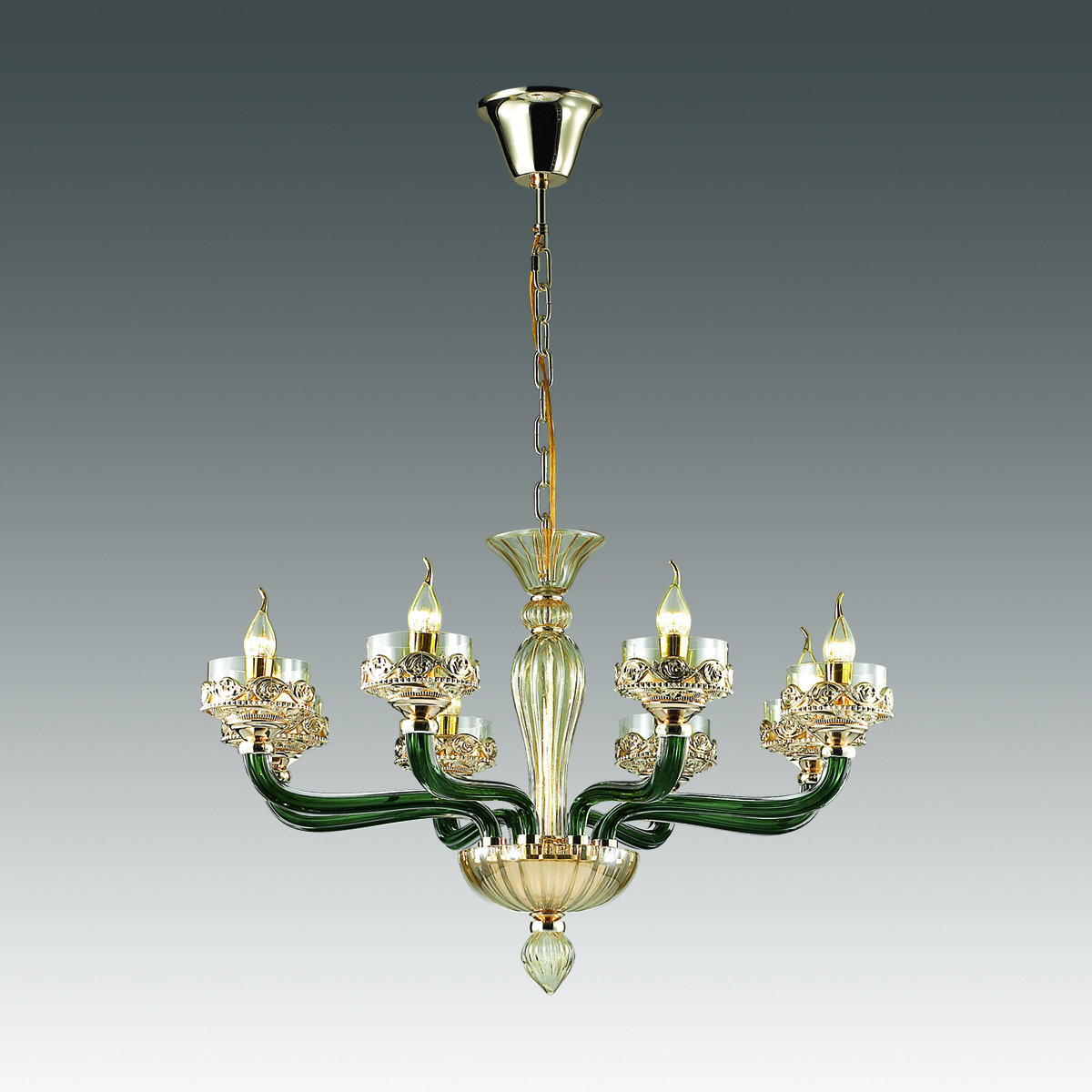 Люстра ODEON LIGHT арт. 4001/8